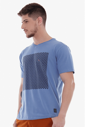 Camiseta-Cotton-Geometrica