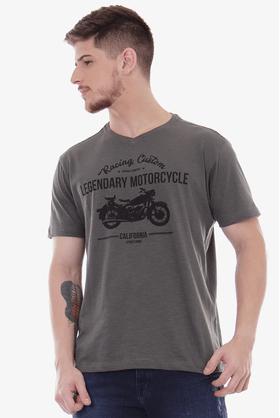 Camiseta-V-Flame-Motorcycle