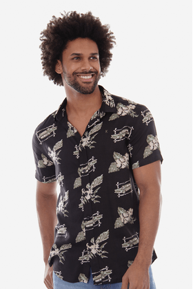 Camisa-Viscose-Estampada