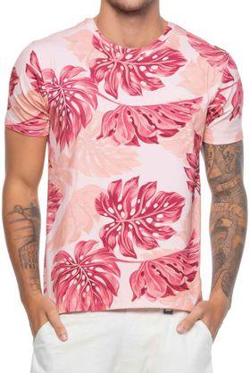 Camisa-Cotton-Masculina-Folhagem-Salmao