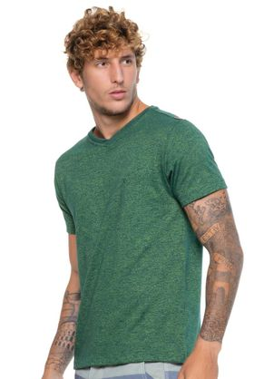 Camiseta-Gola-V-Verde