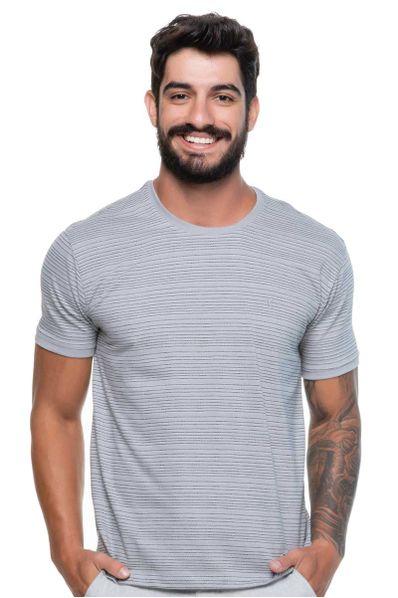 Camiseta-Malha-Charlie-Cinza
