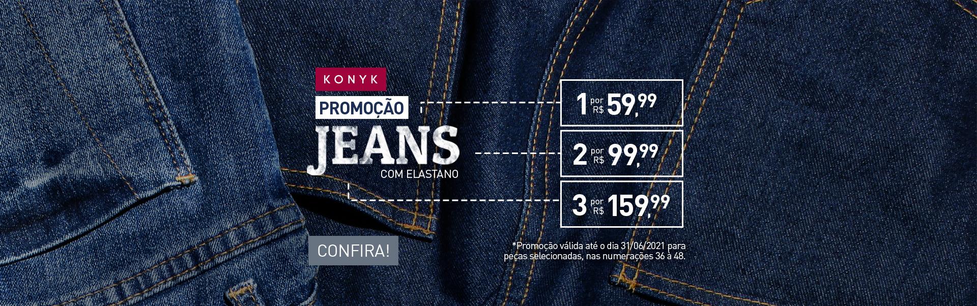 Promoção Calça Jeans Básica